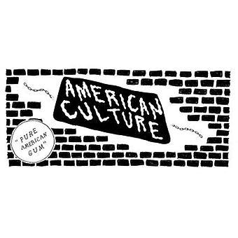 Amerikansk kultur - ren amerikansk gummi [CD] USA importerer