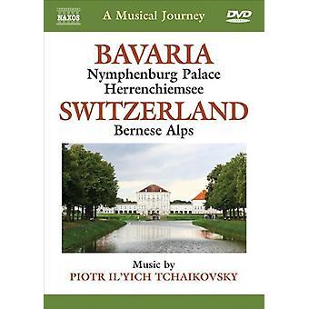 Musikalisk resa: Bayern och Schweiz [DVD] USA import
