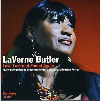 Laverne Butler - Love Lost & Found Again [CD] USA import