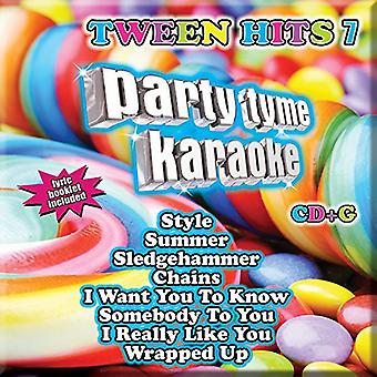 Part Tyme Karaoke - Ptk-Tween Hits 7 [CD] USA import