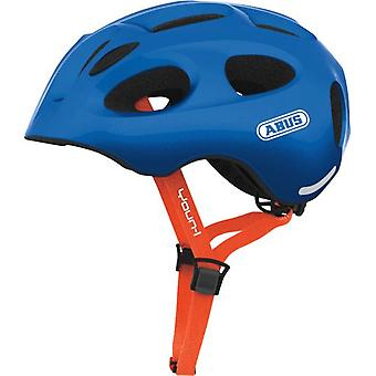 ABUS Casco Youn-I Sparkling Blue (Garden , Games , Sports)
