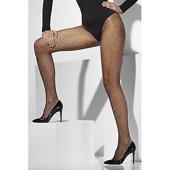 Panty NET visnet patroon zwart sexy