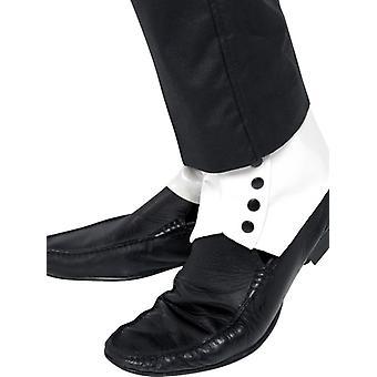 カーニバルのボートカバー メンズ靴 Überzieher 白レギンス