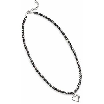 925 Silver Pearl Necklace Necklace