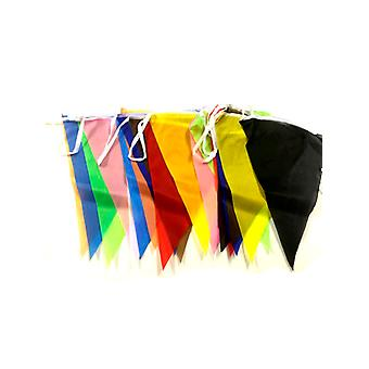 Polyester regnbågens Bunting