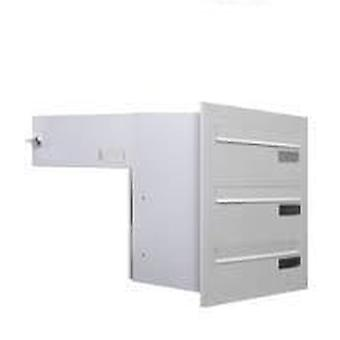BTV Urban Mural Buzon 355 Width Front White (DIY , Hardware , Home hardware , Mailboxes)