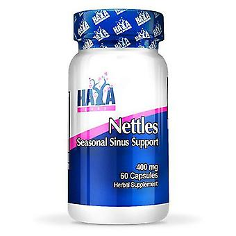 Haya Labs Nettles 400mg. 60 Capsules (Sport , Others)