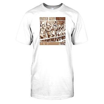 Herren T-shirt DTG Print - British Army World War 2 - Welt