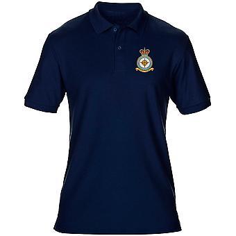 Odessa RAF estação bordado logotipo - oficial da força aérea real Mens Polo camisa