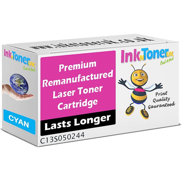 Remanufacturouge Epson S050244 Cyan Toner Cartridge (c13s050244)