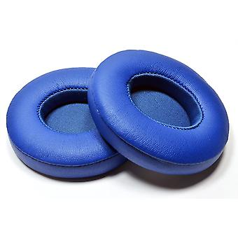 REYTID Replacement Blue Ear Pad Kit for Apple Beats By Dr. Dre Solo3 & Solo3 Wireless Cushion - Solo 3.0 - 1 Pair Earpads
