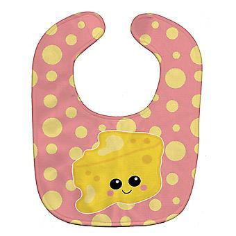Carolines Schätze BB7052BIB Käse Kopf Gesicht Baby Lätzchen