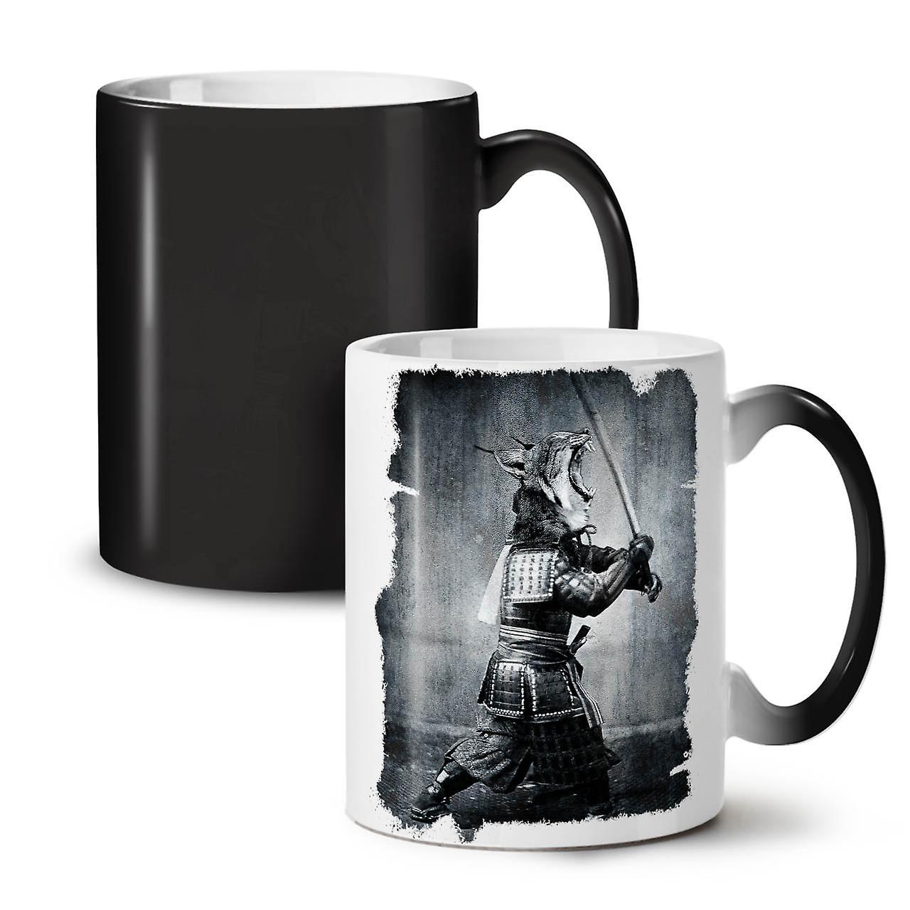 11 Asia Tea Colour Changing Ceramic OzWellcoda Beast Katana Mug Coffee Black New tshdCrQ