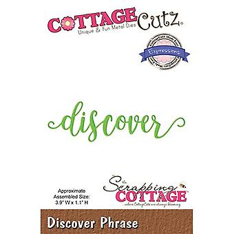 CottageCutz Expressions Plus Die-Discover 3.9