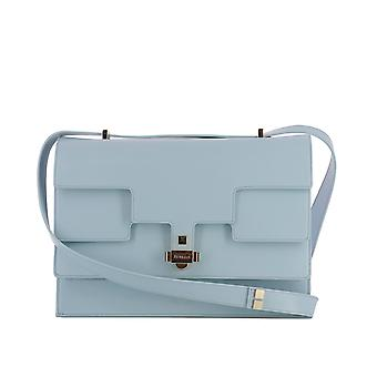 Giancarlo Petriglia ladies 223EVARCLEARWATER light blue leather shoulder bag