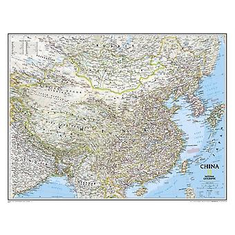 China Classic tubed : Wall Maps Countries & Regions: NG.P620057 (Reference - Countries & Regions) (Map) by National Geographic Maps