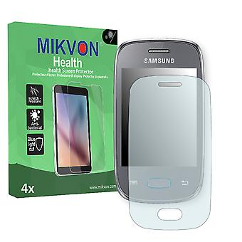 Samsung S5310 Galaxy Pocket Neo Screen Protector - Mikvon Health (Retail Package with accessories)