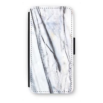 Samsung Galaxy S7 Edge Flip Case - Striped marble