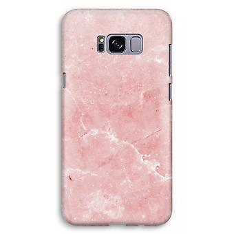 Samsung Galaxy S8 Plus Full Print Case (Glossy) - Pink Marble