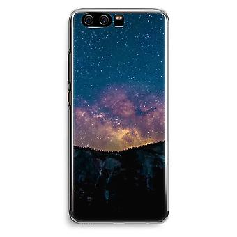 Huawei P10 Transparent Cover (Soft) - Travel to space