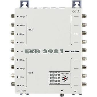 SAT unicable cascade multiswitch Kathrein EXR 2981 Inputs (multiswitches): 9