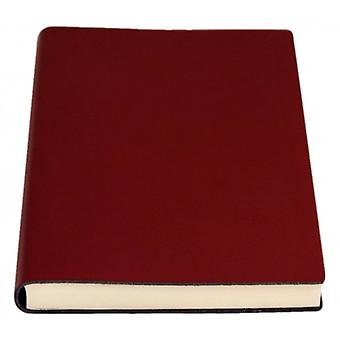 Coles Pen Company Sorrento Large Plain Journal - Burgundy