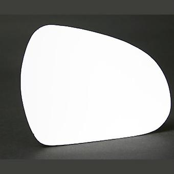 Right Stick-On Mirror Glass for Peugeot 207 CC 2007-2012