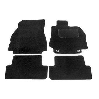 Fully Tailored Car Floor Mats - Renault MEGANE mk2 2003-2008 Black