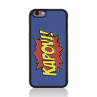 Call Candy Apple iPhone 7 Comic Capers Kapow! 2D Printed Case
