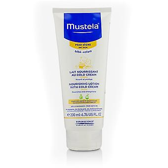 Mustela Nourishing Body Lotion With Cold Cream - For Dry Skin 200ml/6.76oz