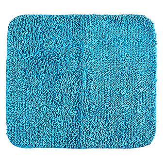 Heine home shower rug bath mat 45x50cm turquoise