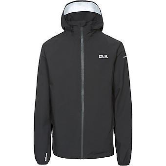 Trespass Mens Hawkings Detachable Hood Zip Waterproof Jacket Coat