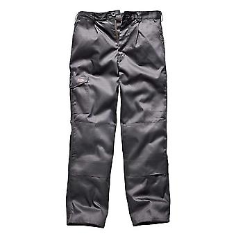 Pantalones de ropa de trabajo Dickies para hombre Super Redhawk gris WD884G