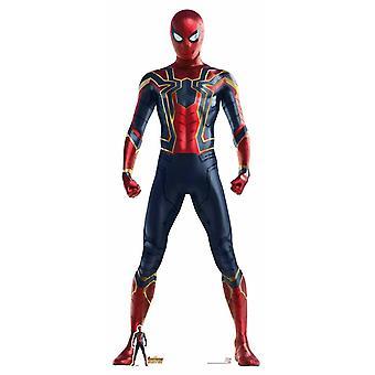Spider-Man Iron Spider Suit Avengers Infinity War Lifesize Cardboard Cutout
