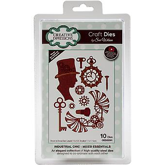 Creative Expressions Craft Dies By Sue Wilson-Industrial Chic-Mixed Essentials