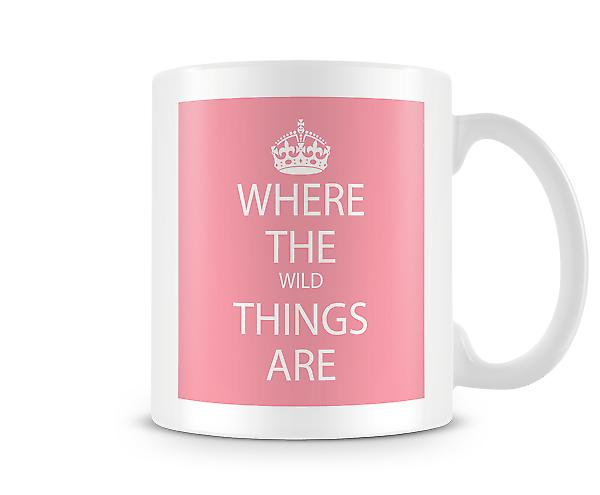 Where the Wild Things Are Tasse Imprimé