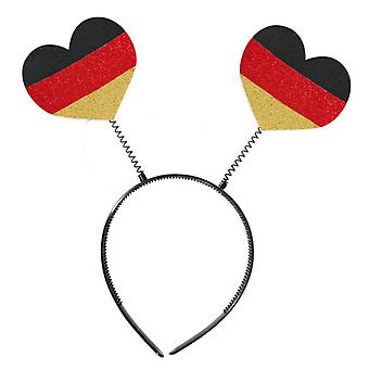 Wabbles wackel heart FAN article colors of Germany World Cup accessories