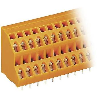 WAGO 2-tier terminal 2.50 mm² Number of pins 16 Orange 1 pc(s)