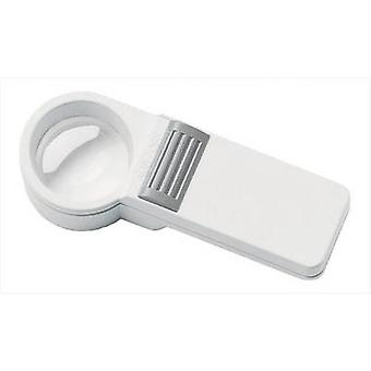 Handheld magnifier incl. light Magnification: 10 x Lens size: (Ø) 35 mm Eschenbach 151010