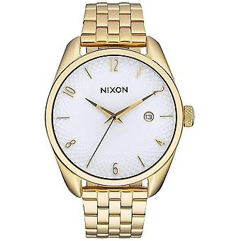 Nixon The Bullet Watch - Gold/White