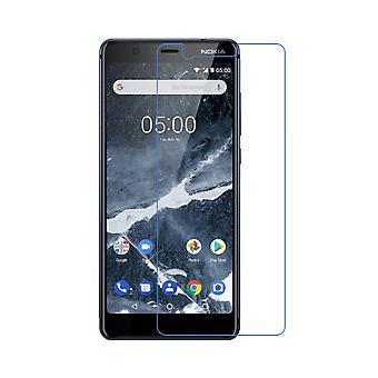 Nokia 5.1 Displayschutzfolie 9H Verbundglas Panzer Schutz Glas Tempered Glas
