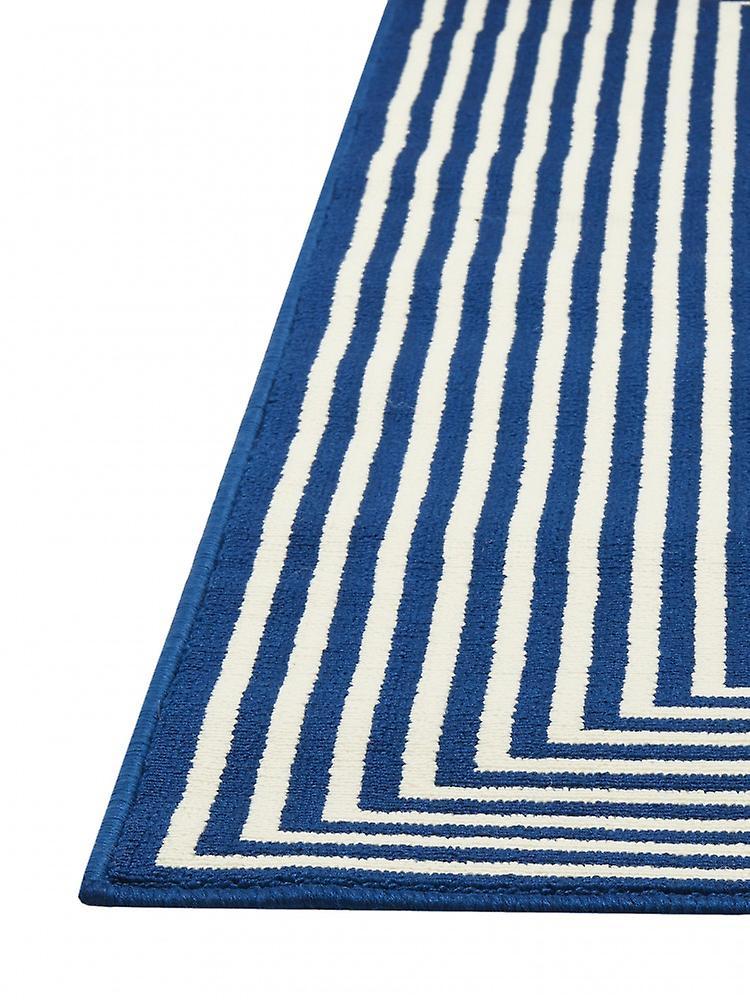 outdoor teppich f r terrasse balkon blau weiss vitaminic braid navy 200 285 cm teppich. Black Bedroom Furniture Sets. Home Design Ideas