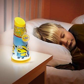 Desprezível Me asseclas noite luz Mini Lanterna