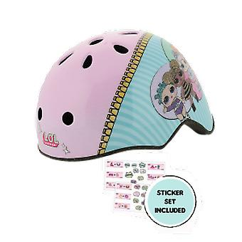 LOL Surprise Ramp Safety Helmet With Sticker Sheet Head Size 50-54cm - MV Sports