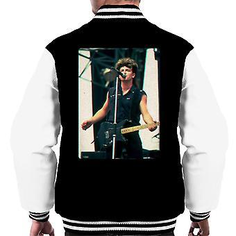 TV Times Bono Of U2 Guitar 3D Effect Men's Varsity Jacket