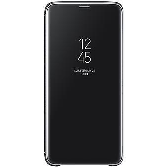 Samsung Galaxy S9 Clear View Standing Cover-Black