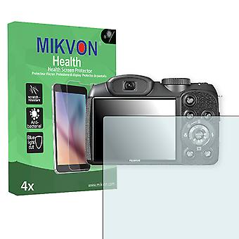 Fujifilm FinePix S2980 Screen Protector - Mikvon Health (Retail Package with accessories)