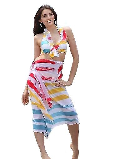 Waooh - Beach - multicolored Sarong
