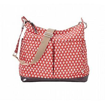 OiOi  Poppy Red Changing Bag