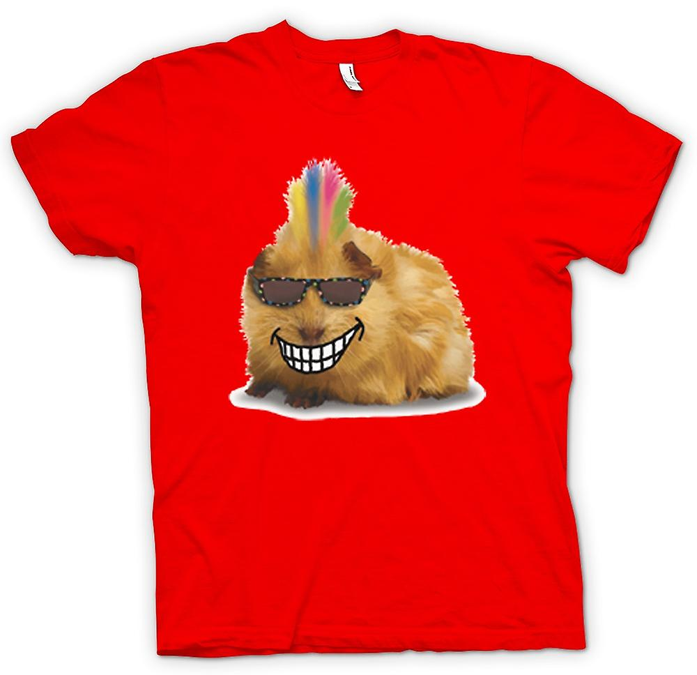 Mens T-shirt - Mohawk Styled Guinea Pig